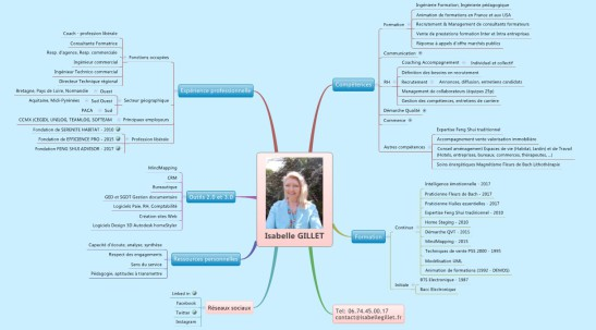 Isabelle ROME GILLET coach intuitif prestation MindMapping